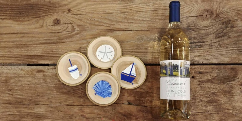 0681a88c01c5 Nautical Coaster Paint & Sip at Chamard Vineyards – Chamard Vineyards